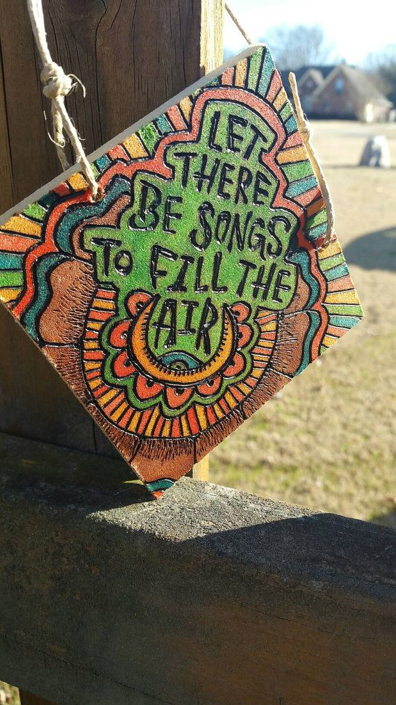 Lyric fire on the mountain grateful dead lyrics : GRATEFUL DEAD wooden sign for home decor - woodburned and ...