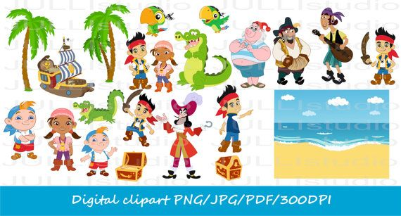 4 Ys Jake And The Neverland Pirates Disney Jake Clipart