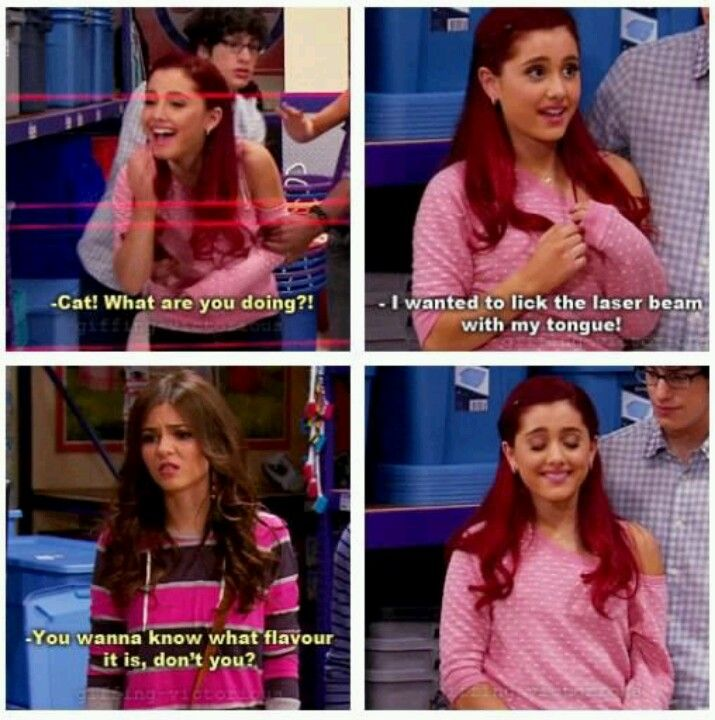 Victorious!!!! I love cat hah...I love the look Robbie is