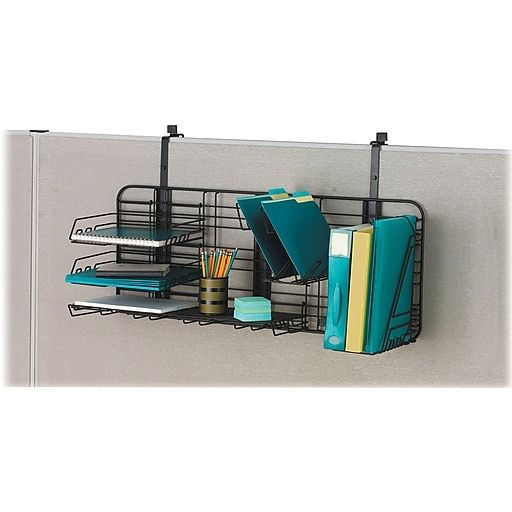 """Safco GridWorks Organizer, Compact, Charcoal, 38 1/8""""W X"""