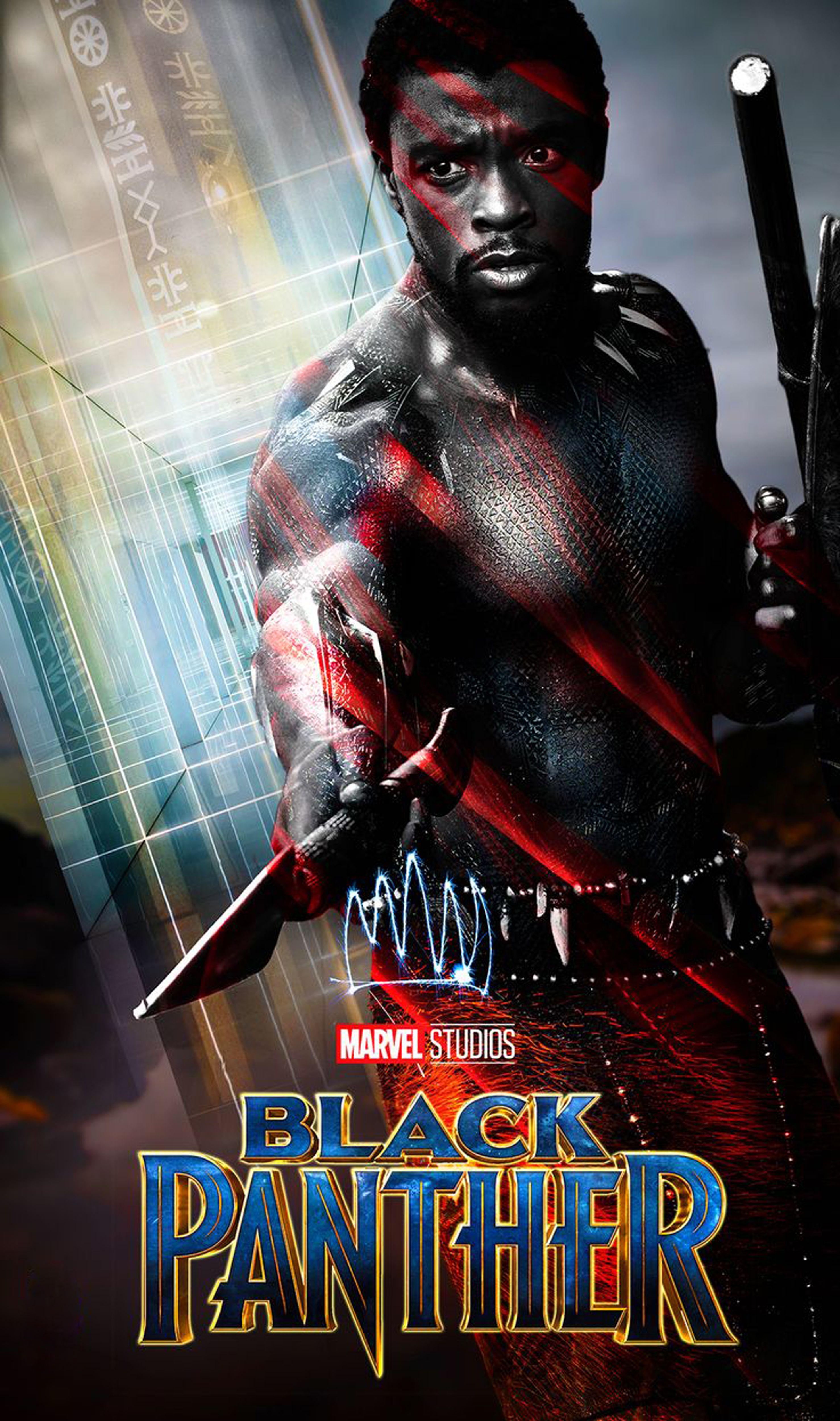 Black Panther Marvel Studio 2018 Marvel & DC United