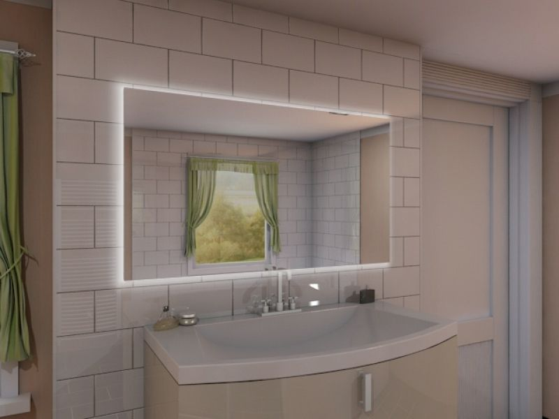 Badspiegel mit LED Beleuchtung - New Jersey M09L4 Bäder Pinterest