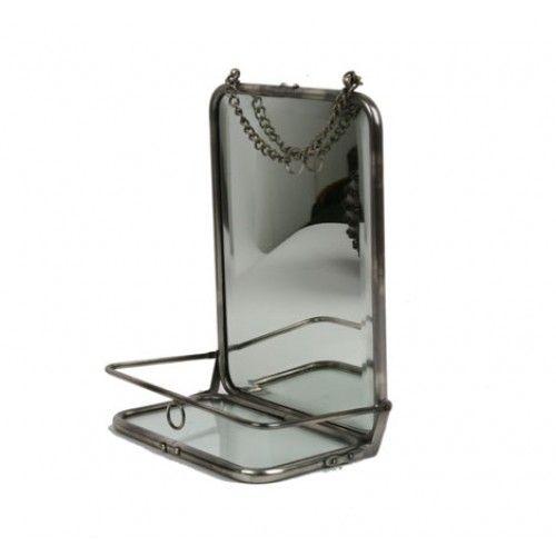 Badezimmerspiegel Retro: Bathroom Mirror With Shelf-for Inside Shower.