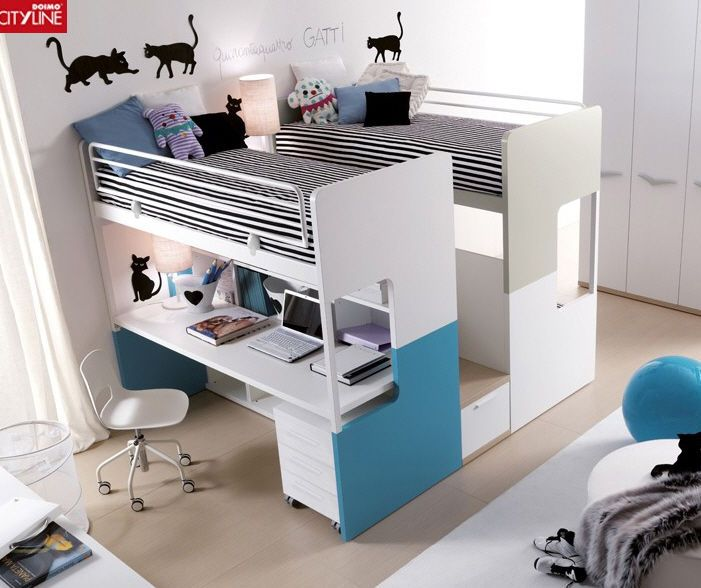lit superpos avec rangements pour enfant mixte 408 a. Black Bedroom Furniture Sets. Home Design Ideas