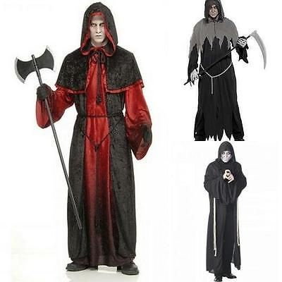 Mens horror halloween grim reaper - #demon robe - halloween #fancy #dress costume,  View more on the LINK: 	http://www.zeppy.io/product/gb/2/360700212912/