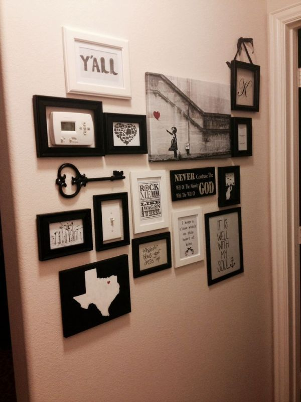 20 Creative Ways To Decorate Your Light Switches Wall Collage Home Decor Decor