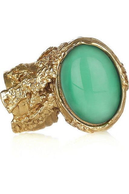 00ccaa13183 bonito verde Bijou Box, Passion For Fashion, Plating, Glass Ring, Yves Saint