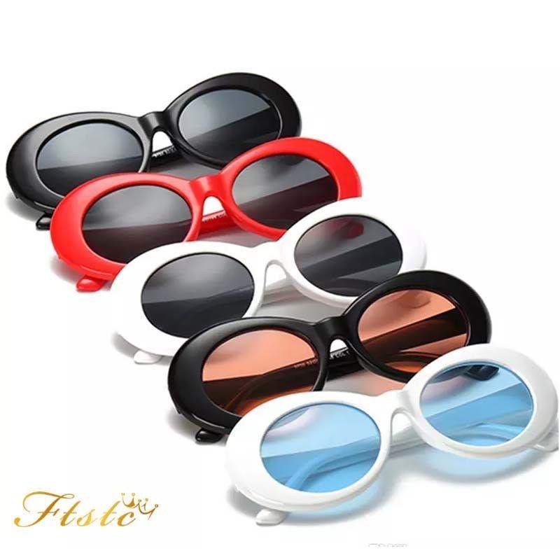 dae39b8369935 Clout Goggles Rapper Glasses Sunglasses Fancy Dress Oval Shades Grunge Uk   ebay  Fashion