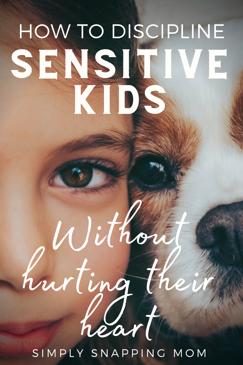 How to Discipline Sensitive Kids, without hurting their heart