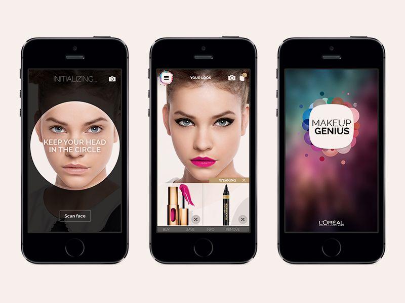 для уединения приложение макияж на фото айфон символ