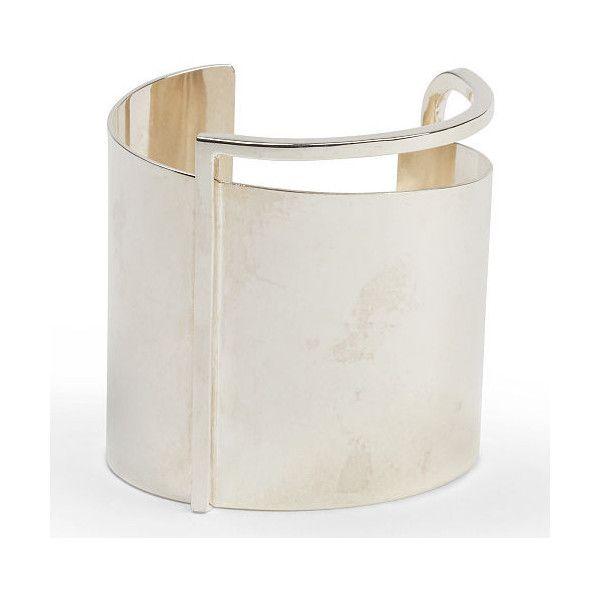 Ralph Lauren Geometric Cuff ($695) ❤ liked on Polyvore featuring jewelry, bracelets, american jewelry, ralph lauren, ralph lauren jewelry, cuff jewelry and cuff bangle