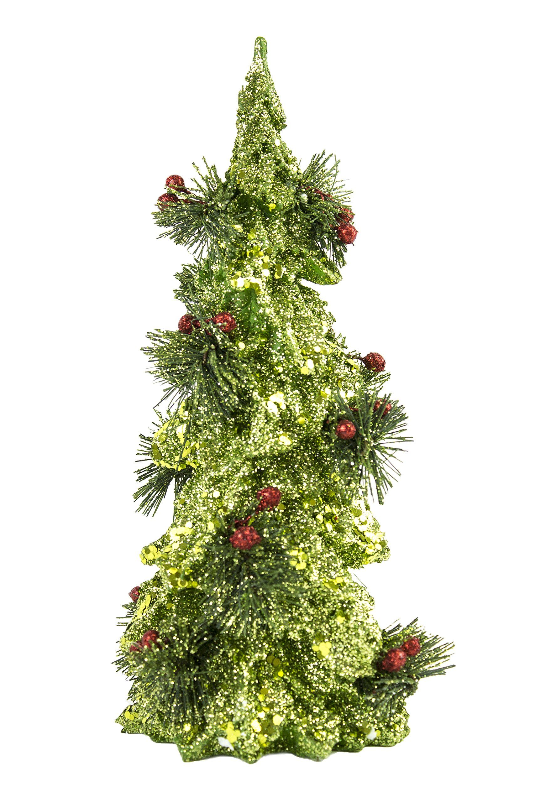 Green Glitter Resin Tree >>> To view further for this item