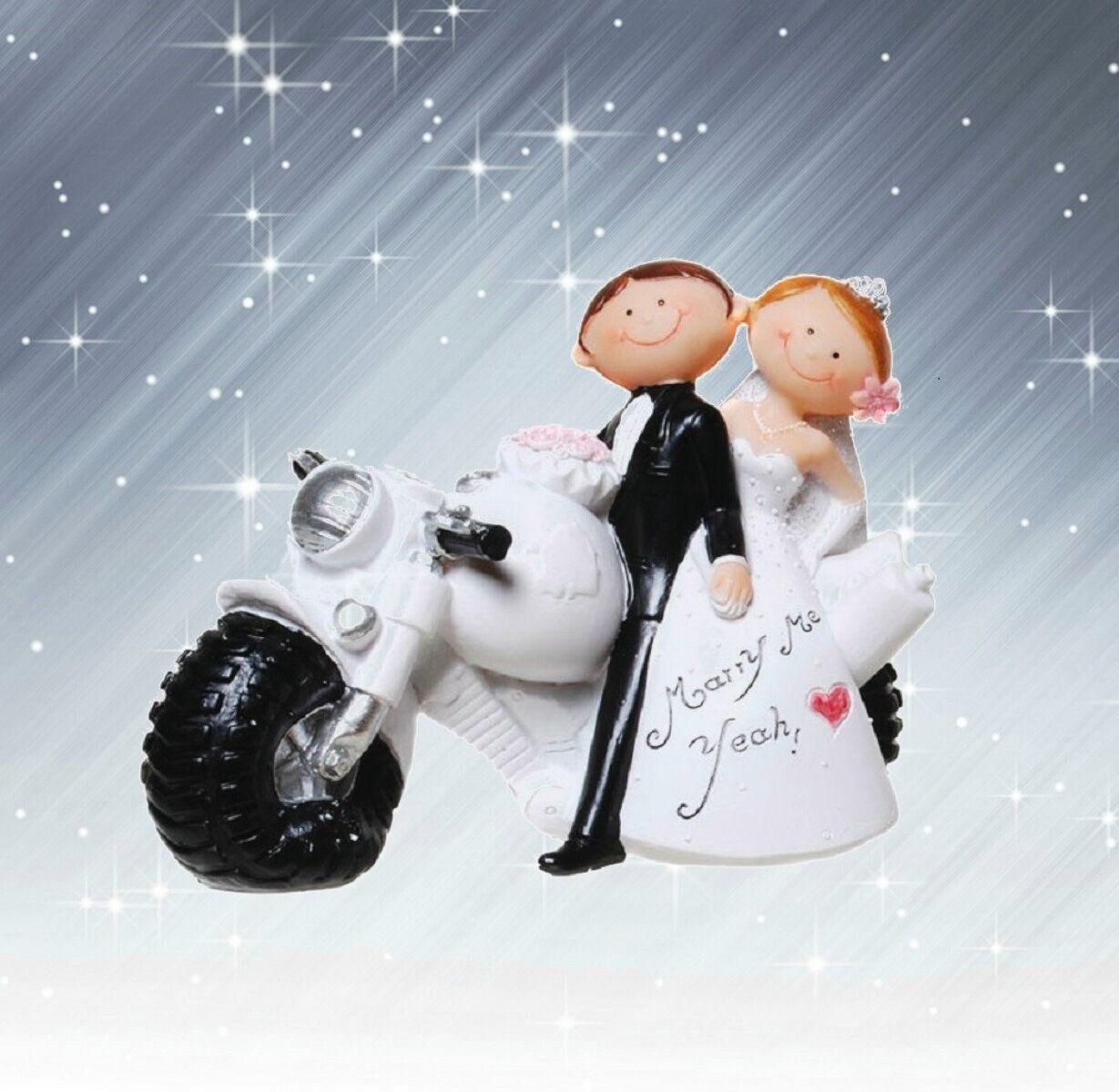 Deko Figur Zur Hochzeit Brautpaar Auf Motorrad Biker 10 X 13cm Https Etsy Me 2sq3zyb Hochzeit Dekoration W Tortenfiguren Hochzeit Torten Figuren Brautpaar