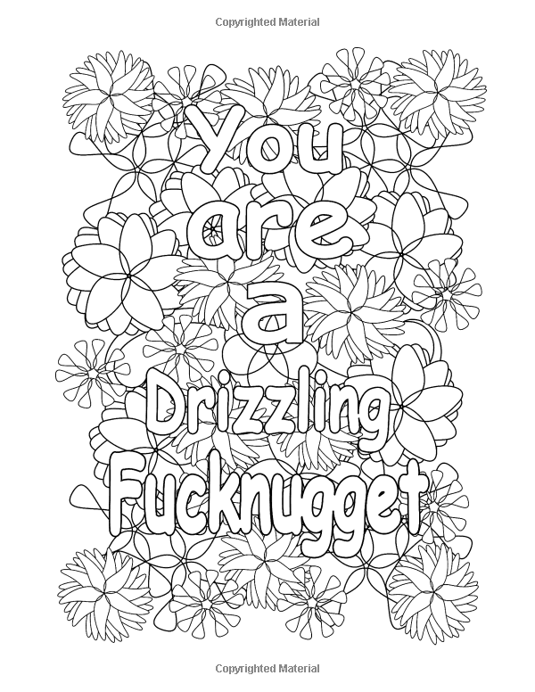 Swear Words Free Printable Adult Coloring Pages Sketch Free Printable Coloring Pages Swear Words