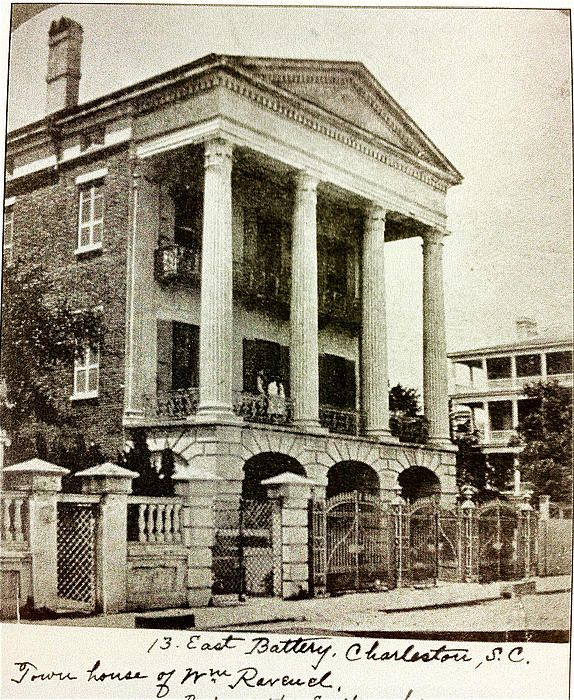 Old Photo of 13 E. Battery Charleston,SC