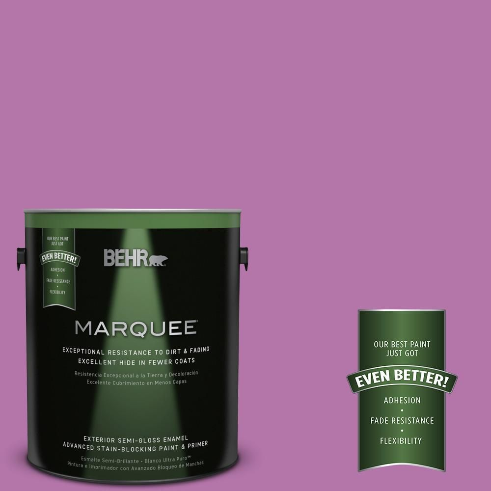 BEHR MARQUEE 1-gal. #P110-5 Girls Only Semi-Gloss Enamel Exterior Paint