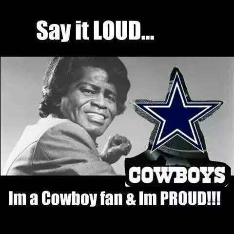 Loud N Proud Cowboys Fan With Images Dallas Cowboys Memes