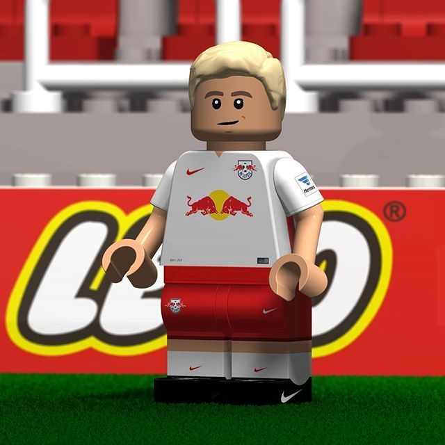 rb leipzig lego minifigure created with cinema4d more