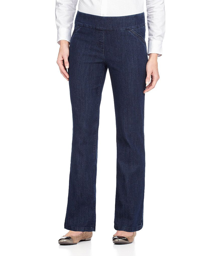Westbound the PARK AVE fit Classic Pull-On Denim Pants