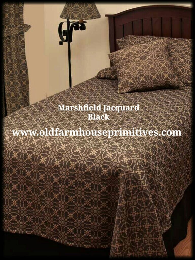 #RAGB1 Marshfield Jacquard Home Collection In Black