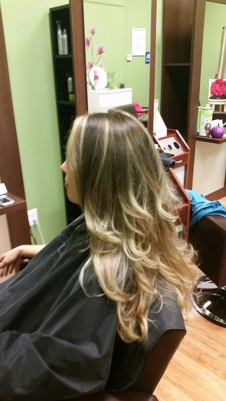 Ombre With Balayage On Previously Over Highlighted Hair Ombre