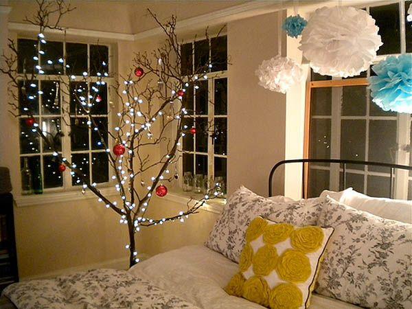 66 Inspiring Ideas For Christmas Lights In The Bedroom #Lighting