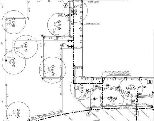 Sprinkler Plan Landscaping Network Calimesa Ca