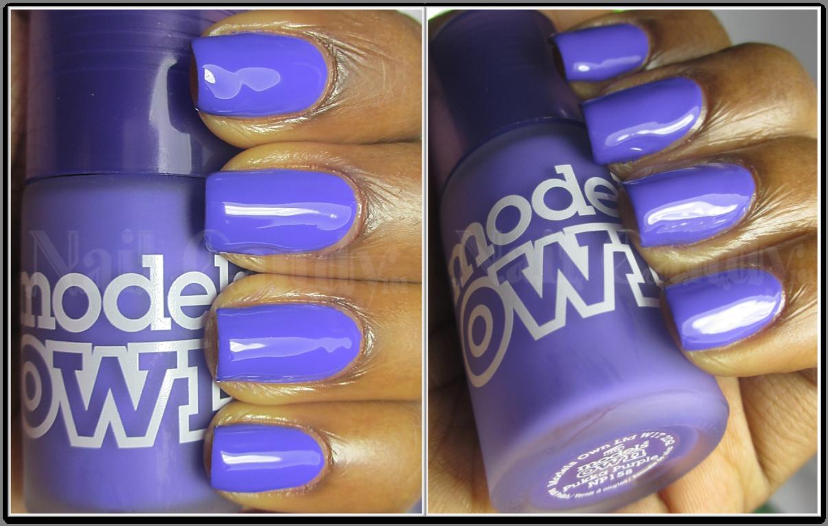 Models Own Ice Neon nail polish in Pukka Purple | Nails | Pinterest ...