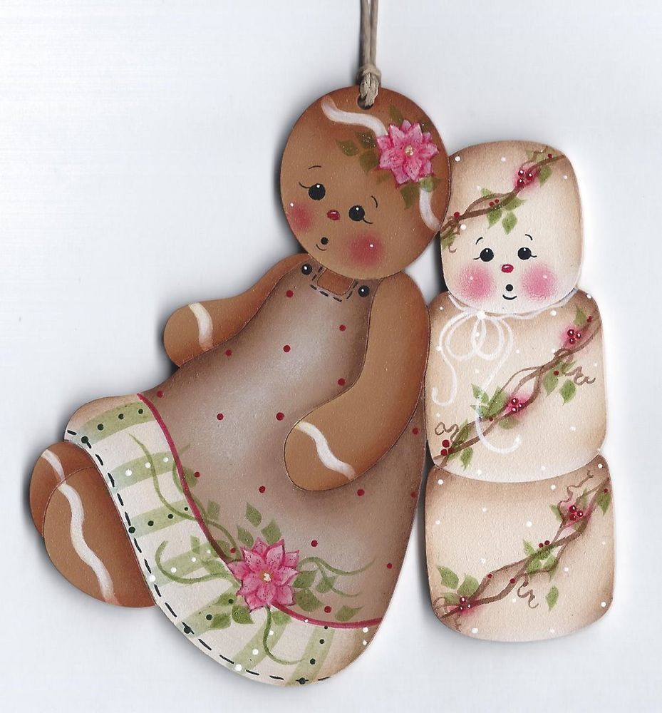 HP Gingerbread and Ice cream Paper Towel Holder, Ginger Decor, Cherries | eBay