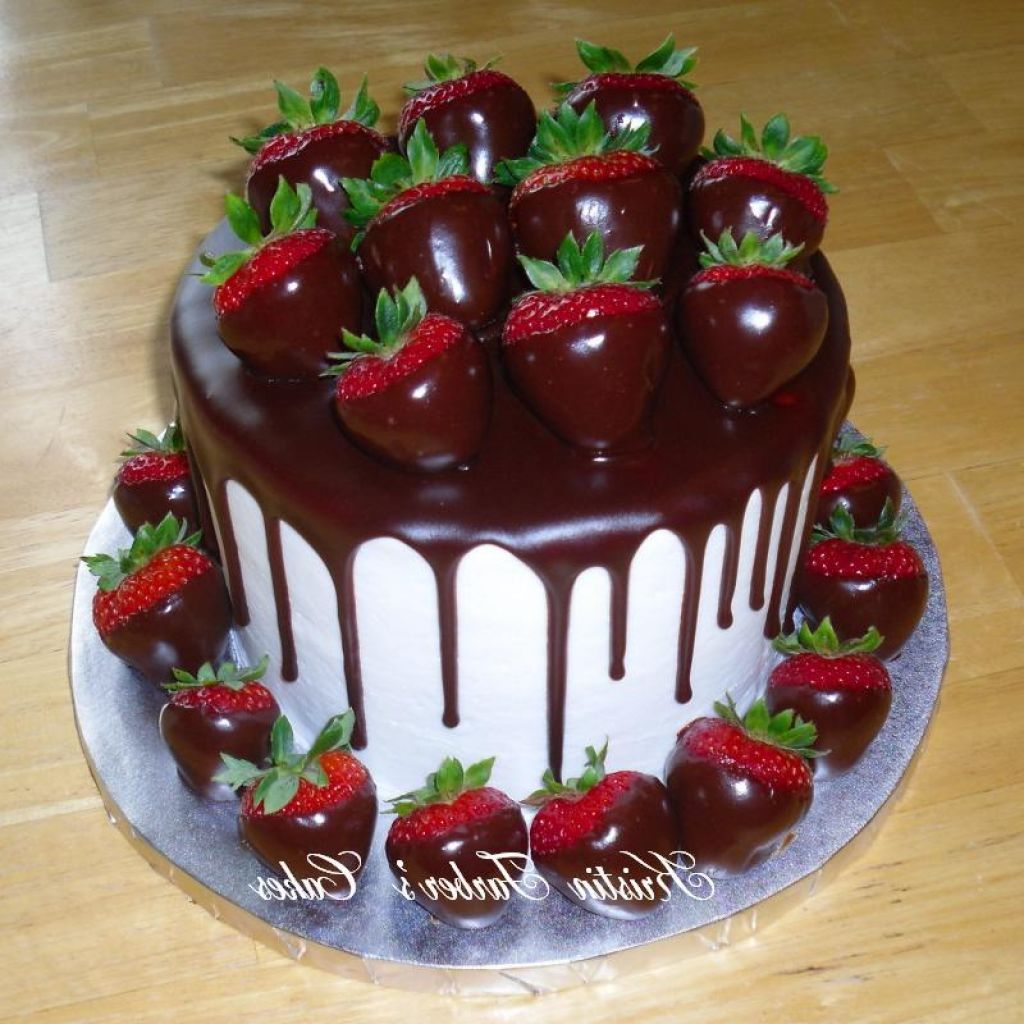 cake strawberry chocolate covered strawberry cake forward chocolate ...