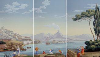 Bay of Naples (panels)