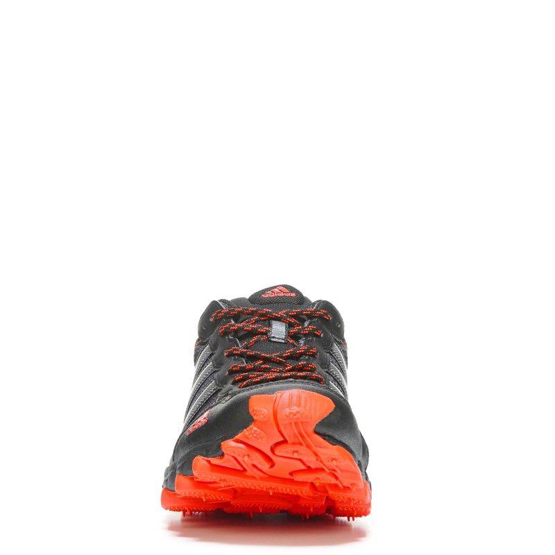 adidas uomini rockadia tracce delle scarpe da corsa (nero / rosso).