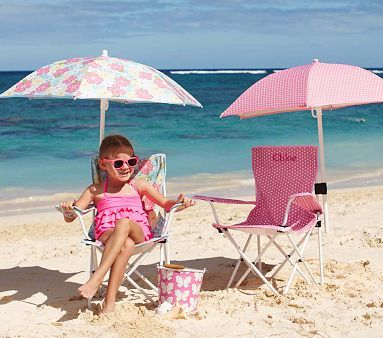Freeport Folding Chair u0026 Umbrella : childrens beach chairs with umbrella - Cheerinfomania.Com