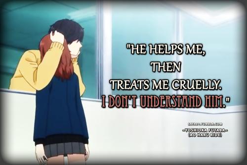 "Yoshioka Futaba ""I Don't Understand Him"""