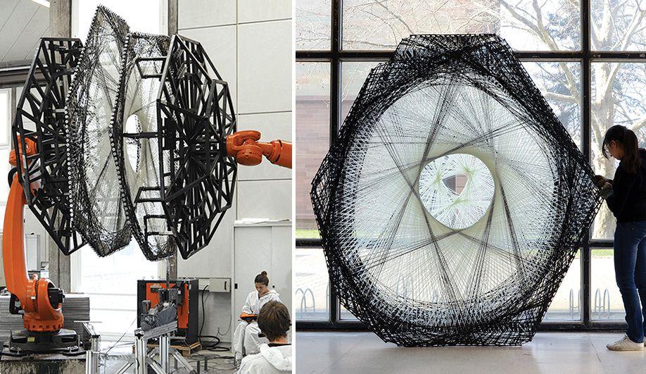 Architecture Education New Robotics At University Of Stuttgart