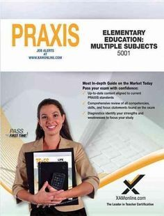 Praxis Elementary Education Multiple Subjects 5001 Praxis 2