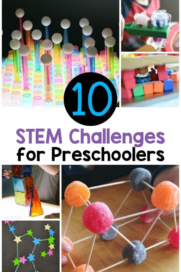 10 Fun STEM Challenges for Preschoolers
