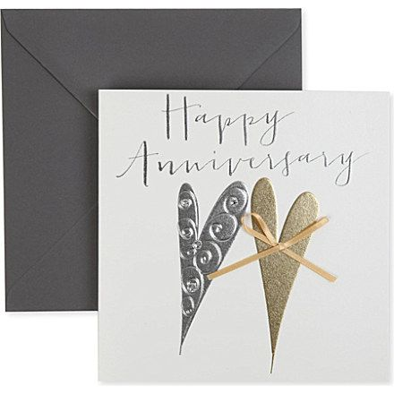 Belly Button Designs Happy Anniversary Card Spotted On Selfridges Online Store Happy Anniversary Cards Anniversary Cards Happy Anniversary
