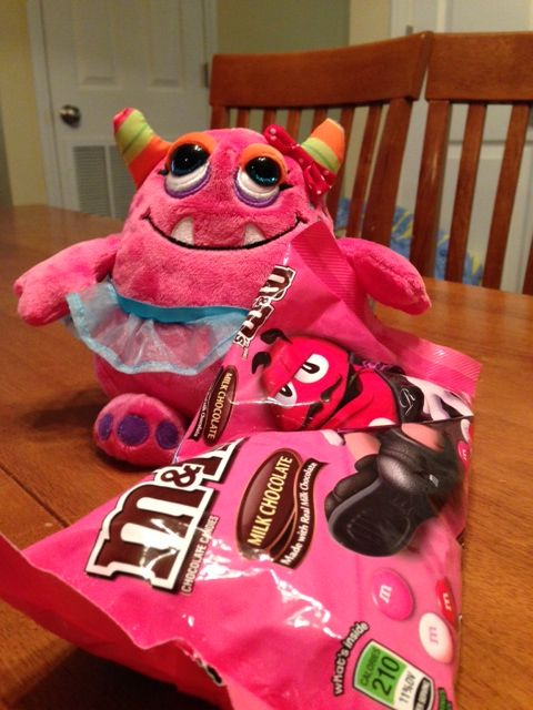 What can we do with this bag of pink M&Ms?