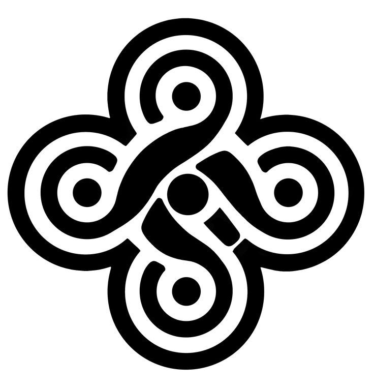 Celtic Five Fold Knot Earth Air Water Fire Aether My Celtic