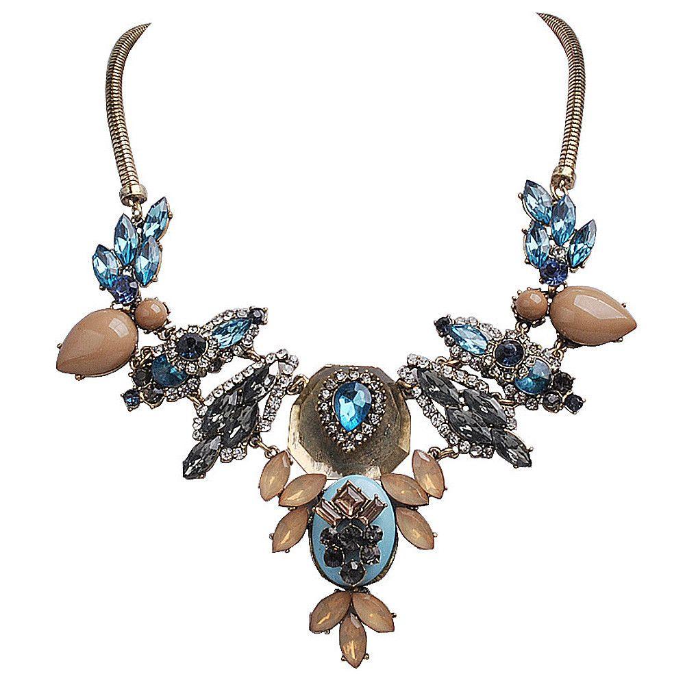 Gorgeous bib necklace u fashion jewelry for women u girls jane