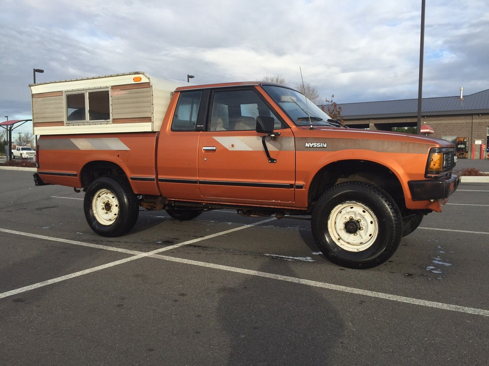 1982 datsun nissan 720 king cab 4x4 pick up truck 2600 in