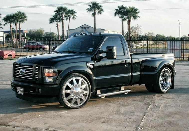 Custom 2009 Ford F 350 Single Cab Short Bed Dually On 26 S