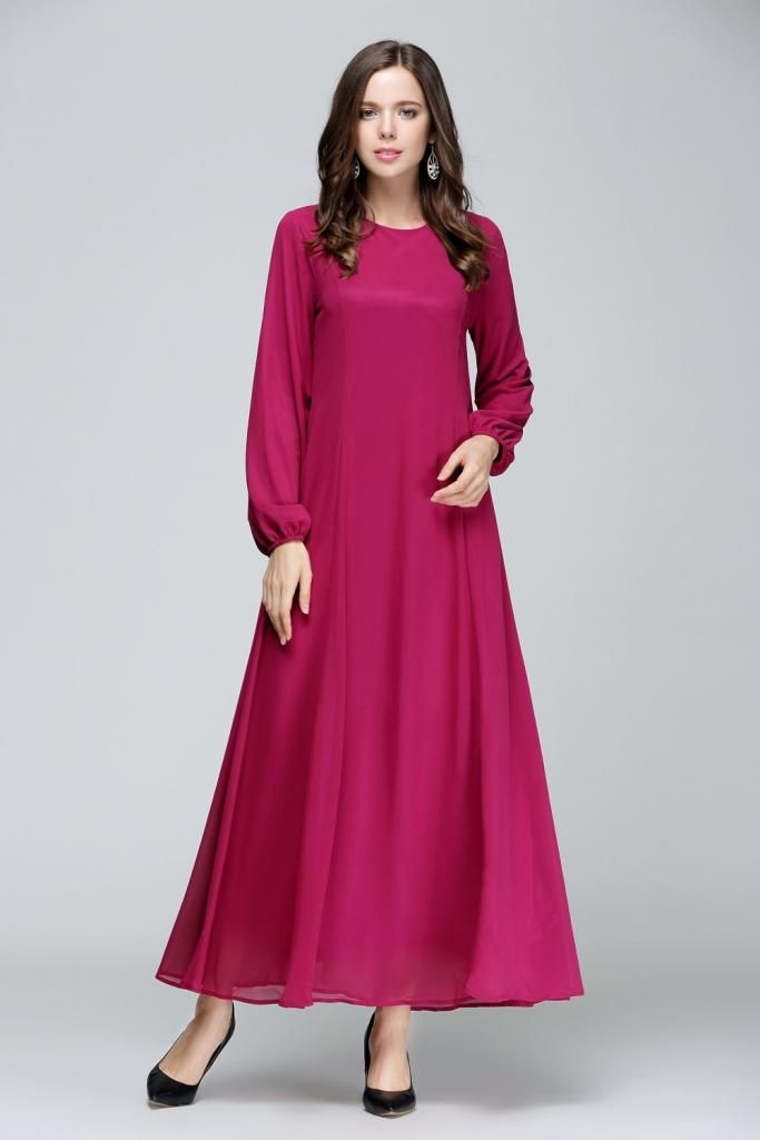 d0784a61ac jubah chiffon princess cut - Google Search Muslim Dress