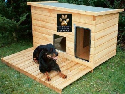 Casa de perros con palets buscar con google proyectos for Construir casa de perro