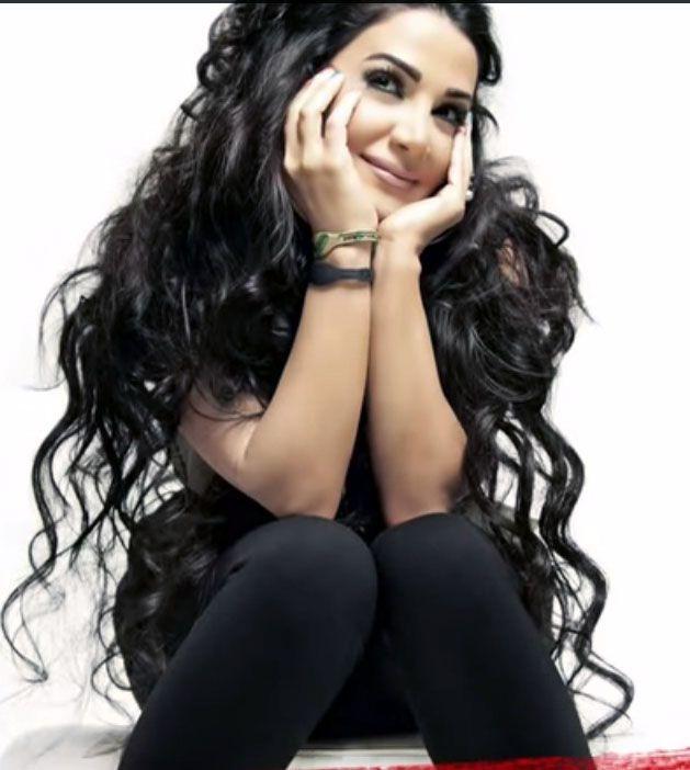 Arab singer Diana Haddad