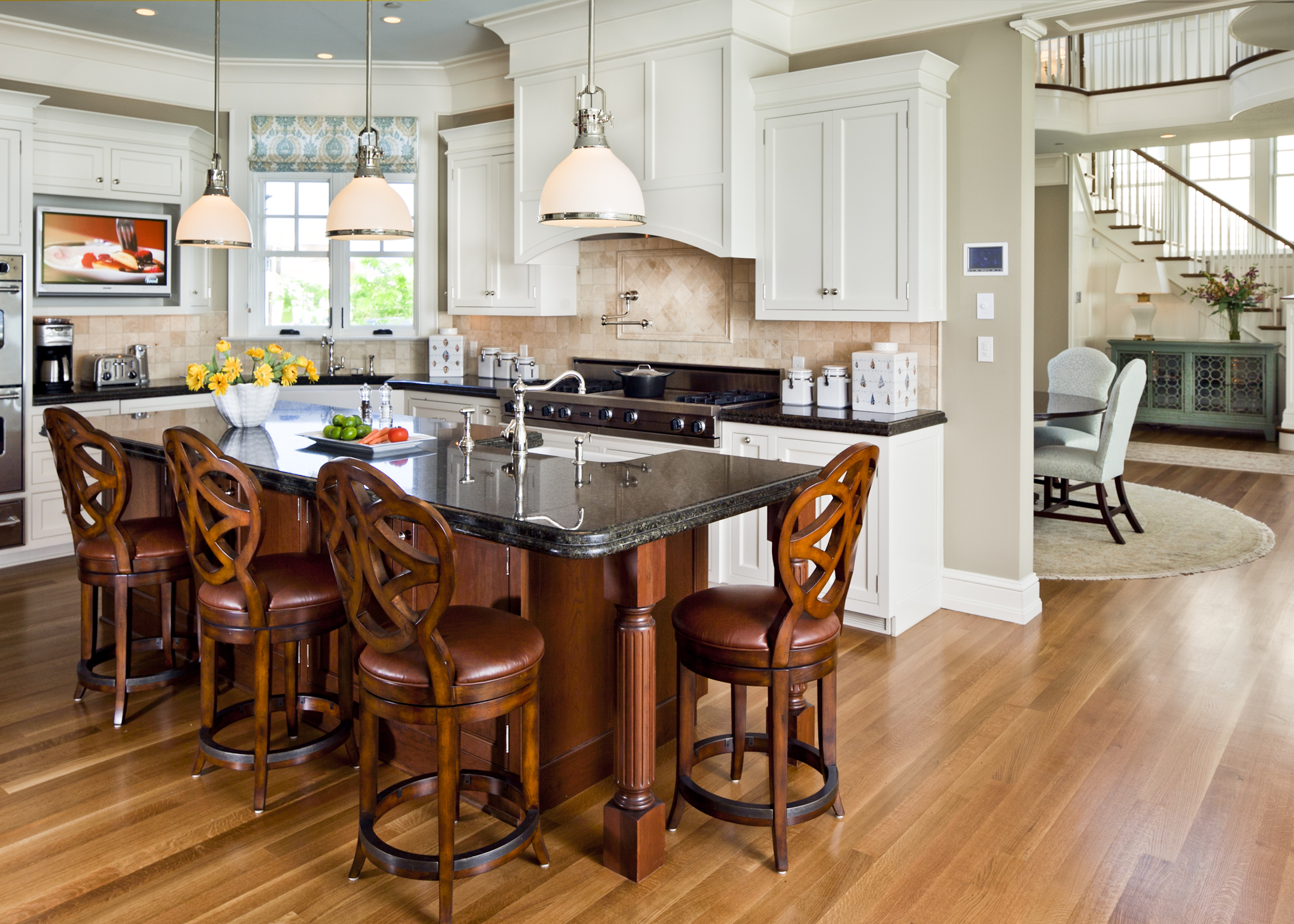 Kitchen from a home that won a 2010 BALA for Custom Home