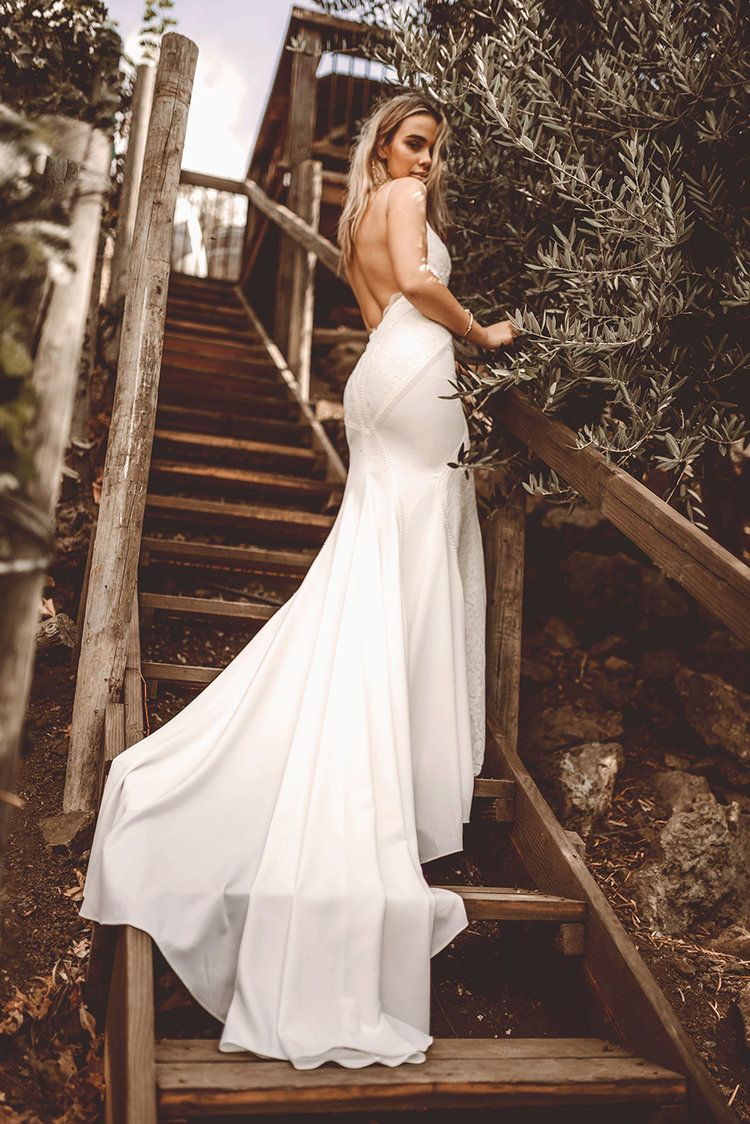 Wyatt by lovers society available at the bridal atelier