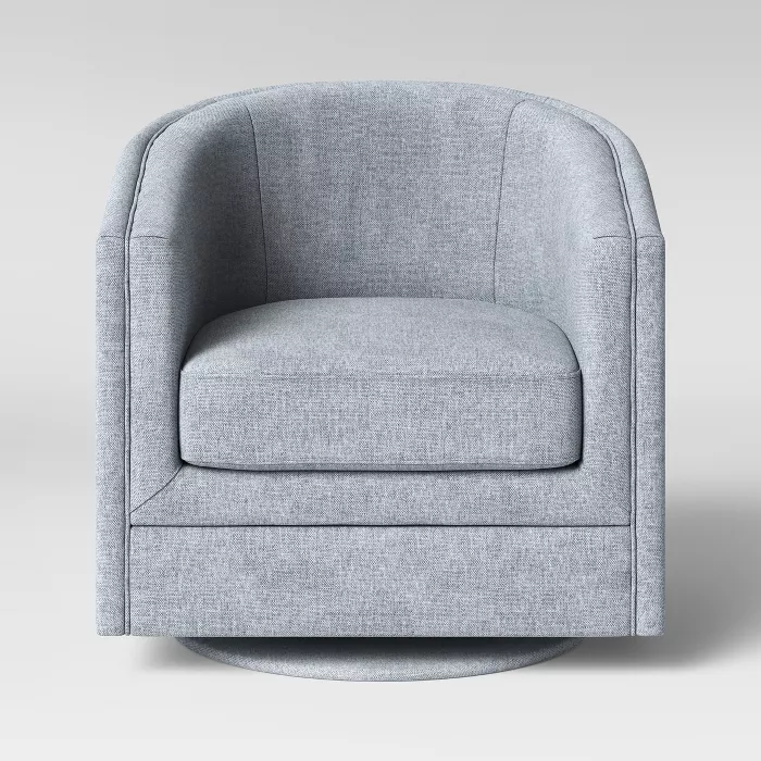Berwick Barrel Swivel Chair Threshold Barrel Chair Swivel Chair Swivel Barrel Chair