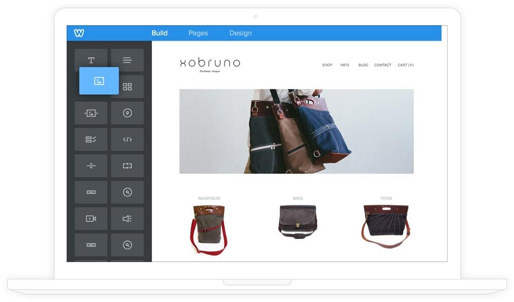 weebly website builder create a free website store or